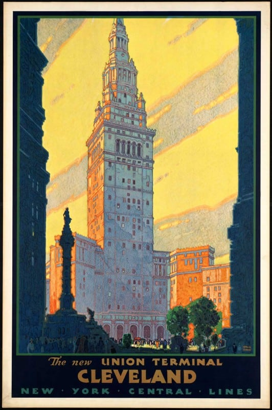 vintagePosters46 532x800 - 60 Beautiful Examples Of Vintage Travel Posters
