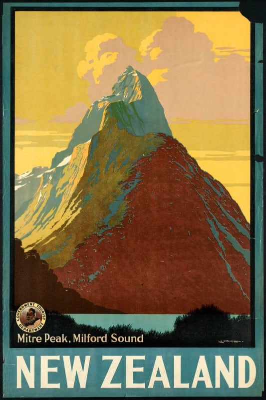 vintagePosters48 533x800 - 60 Beautiful Examples Of Vintage Travel Posters