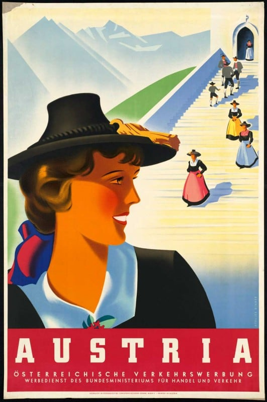 vintagePosters49 531x800 - 60 Beautiful Examples Of Vintage Travel Posters