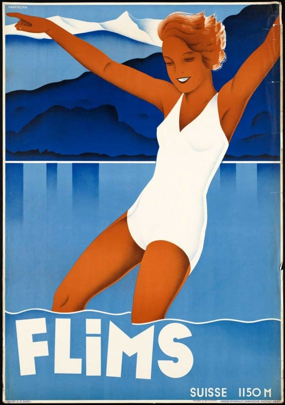 vintagePosters52 563x800 - 60 Beautiful Examples Of Vintage Travel Posters