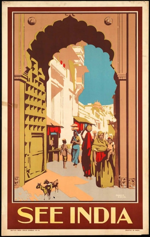 vintagePosters57 508x800 - 60 Beautiful Examples Of Vintage Travel Posters