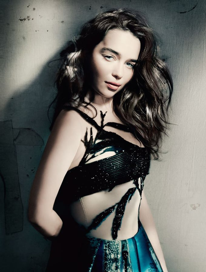 Emilia Clarke for Vogue UK Magazine -Vogue uk, photo session
