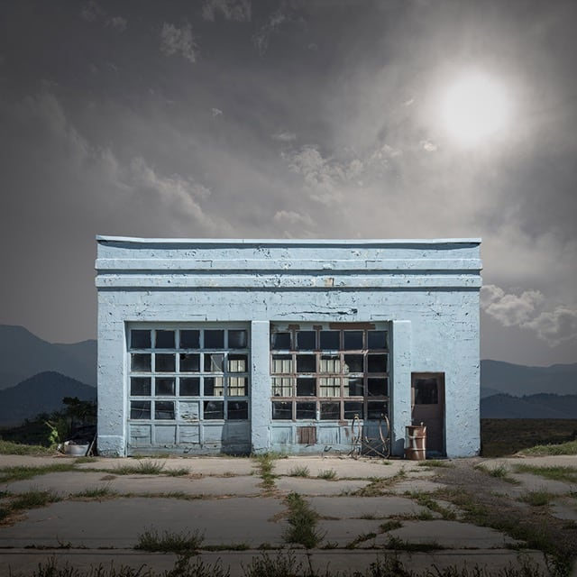 Abandoned And Isolated Signs of Human Beings by Ed Freeman -
