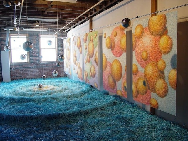 Colorful-Paper-Installations-by-Travis-Rice_6-640x480