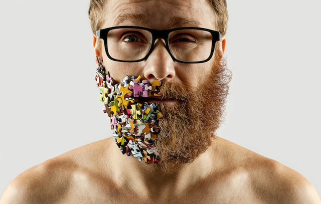 Creative Beard Photo-Project by Adrian Alarcon -selfie, beard