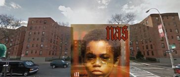 Iconic Hip Hop Albums in Google Street View with Nas, Beastie Boys, Ice Cube + more -artwork