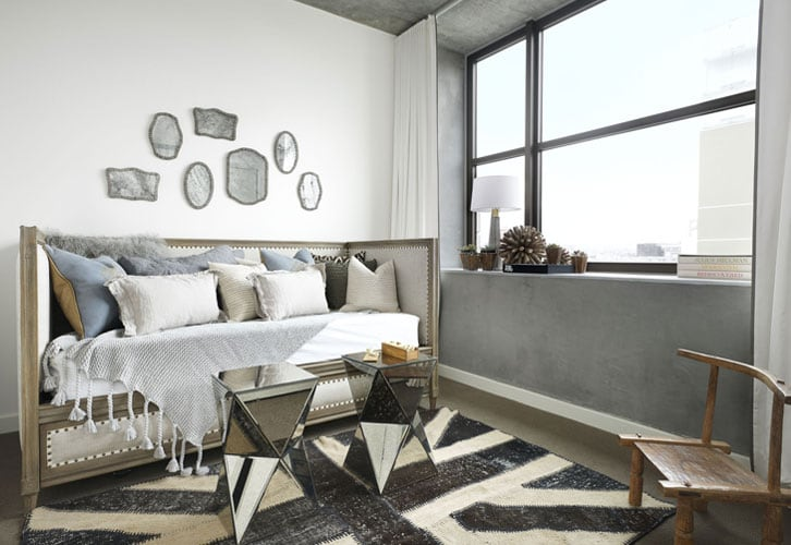 The Bond eclectic mix of modern and vintage Parisa OConnell HomeWorldDesign 6 - The Bond: Eclectic Mix Of Design