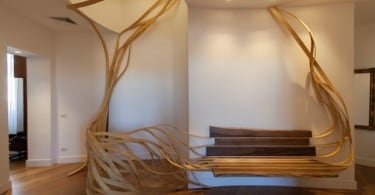 Organic Inspired Furniture: The Arboreus Bench By Rota Lab 1