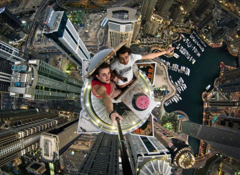 25 Illegal Photographs That Urban Climbers Risked Their Lives To Take 6