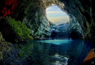 Melissani Undercover Cave and Lake in Greece 8