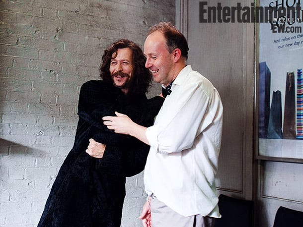 Gary Oldman and Yates, Harry Potter and the Order of the Phoenix (2007) Image Credit: Murray Close