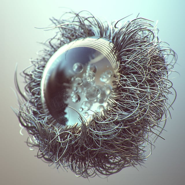 Amazing Experimental Raw D Artworks By Joey Camacho - 3d rendered experimental artworks