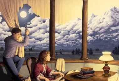 Mind Bending Optical Illusion Paintings by Rob Gonsalves 12