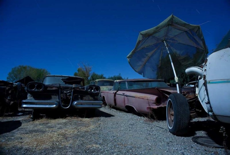 Abandoned Vehicles by Joe Reifer -