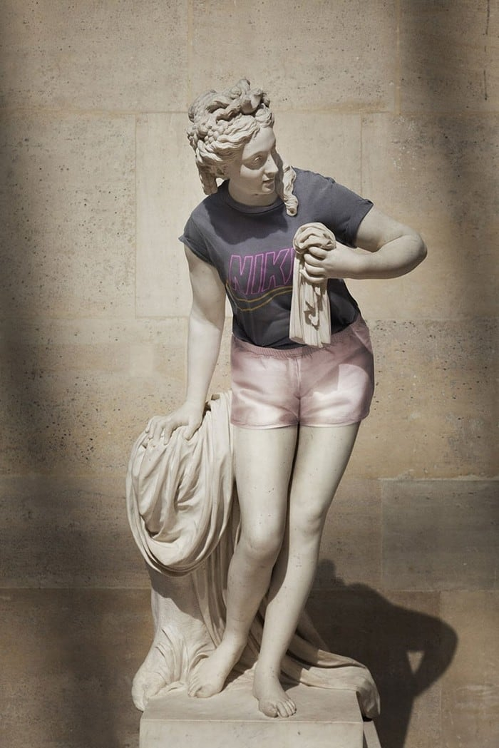 """Street Stone"" Project: Classic Sculptures Dressed As Hipsters -"