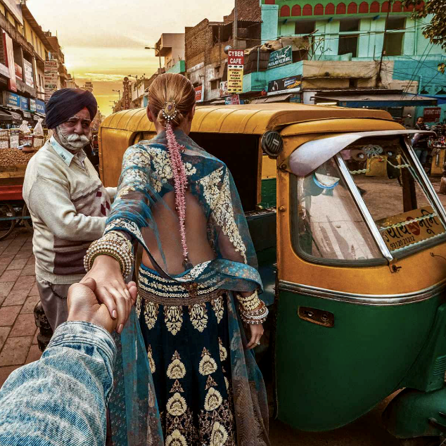 Murad Osmann's 'Follow Me To' For Harper's Bazaar Bride India -