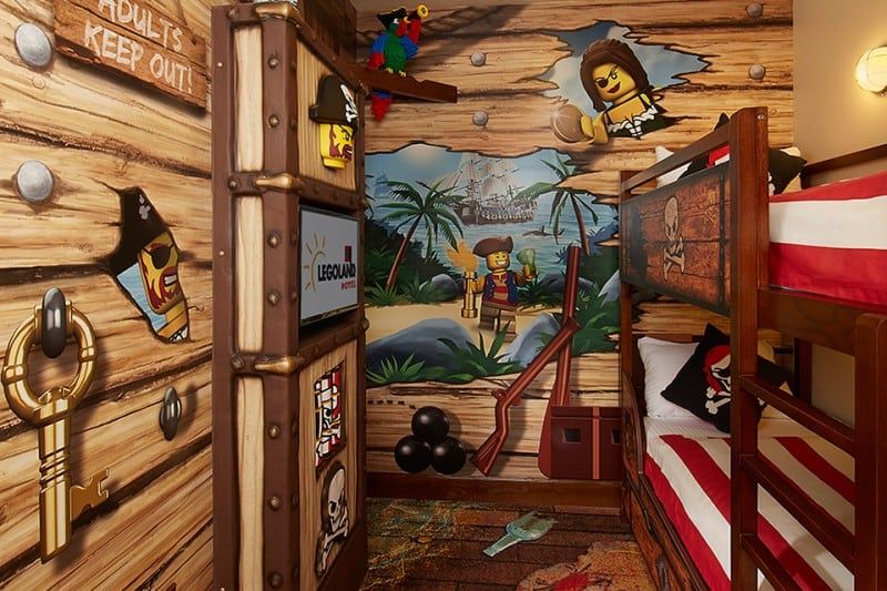 An Amazing Lego-Themed Hotel In A Florida -