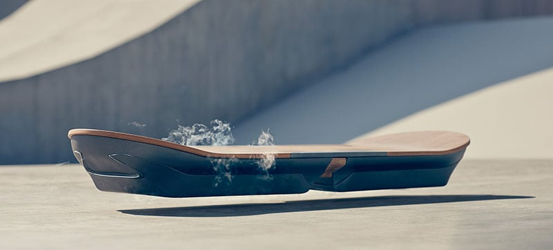 Lexus Has Created A 'Real' Magnetic Hoverboard -