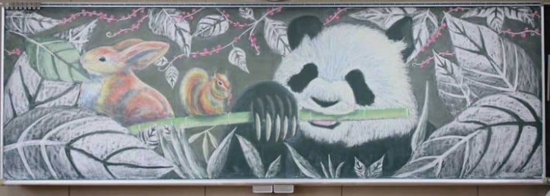chalkboard-blackboard-art-highschool-nichigaku-japan-12
