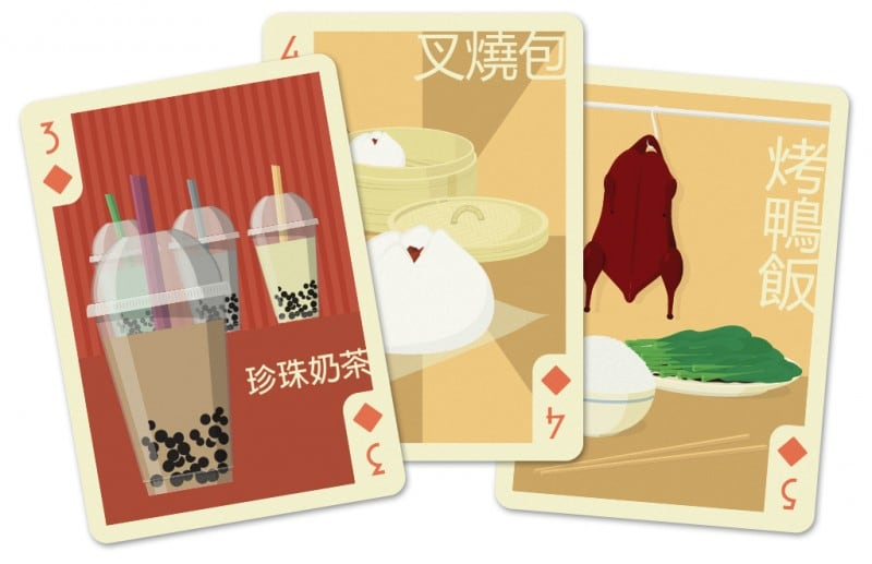 numbers china - Cultura Playing Cards KS