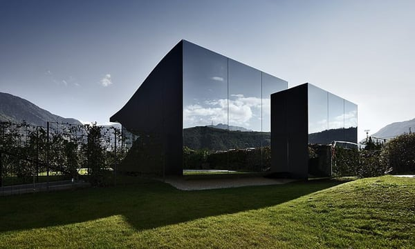The Mirror Houses by Peter Pichler -house, architecture photography