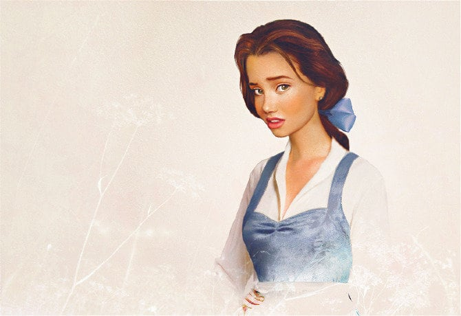 Artist Reimagines Disney Princes And Princesses As Real People -illustrations