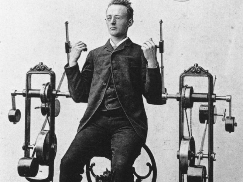 Weird And Scary Workout Equipment Of Victorian Era -