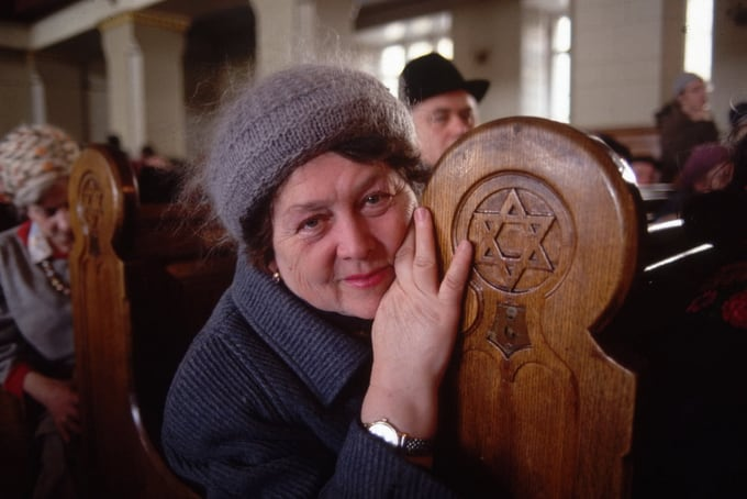 Synagogue, Moscow, 1990