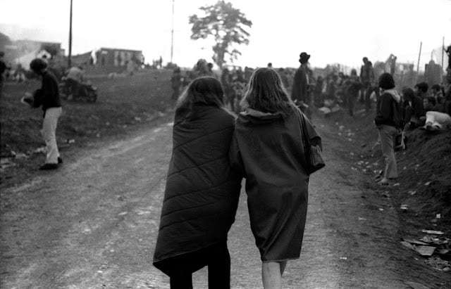 Rare Photos of Life at Woodstock Festival 1969 -music, festival, black and white