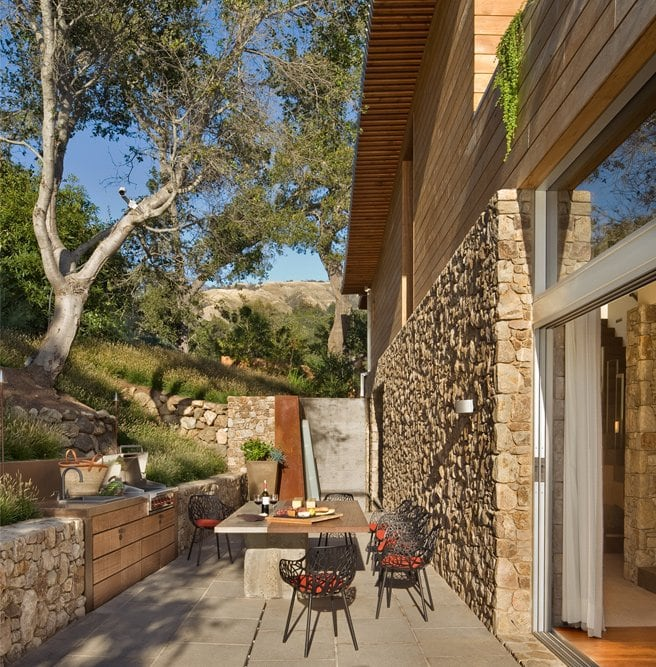 Beautiful Coastal California Home Made Of Glass And Stone -home, california