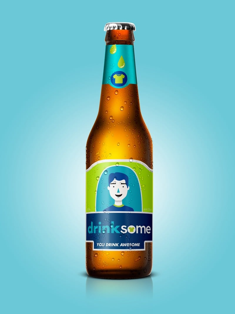 iBeer and Facebrew: Famous Brand Identities Transformed into Beers -brand