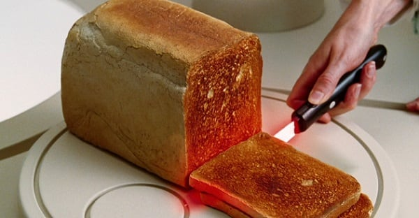 Lightsaber Toasting Knife
