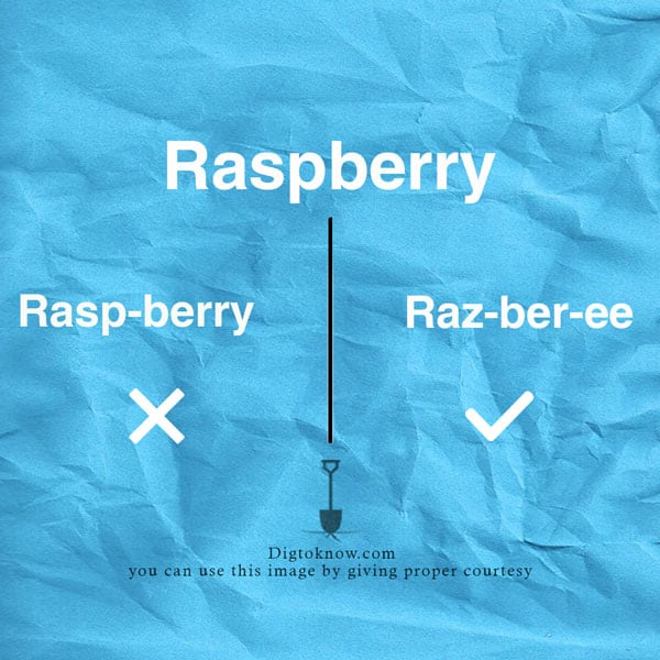 raspberry-pronunciation