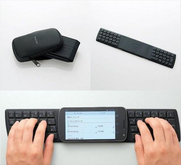 Portable Keyboard for Smartphone