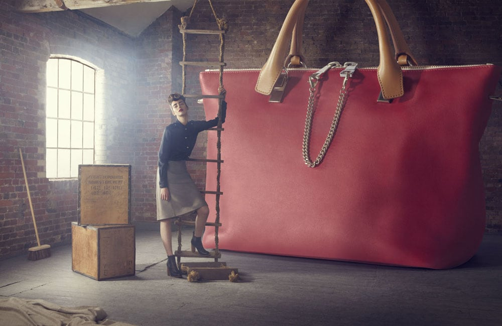 04 - Advertising Campaign 'The Big Bag Theory' By Lucia Giacani