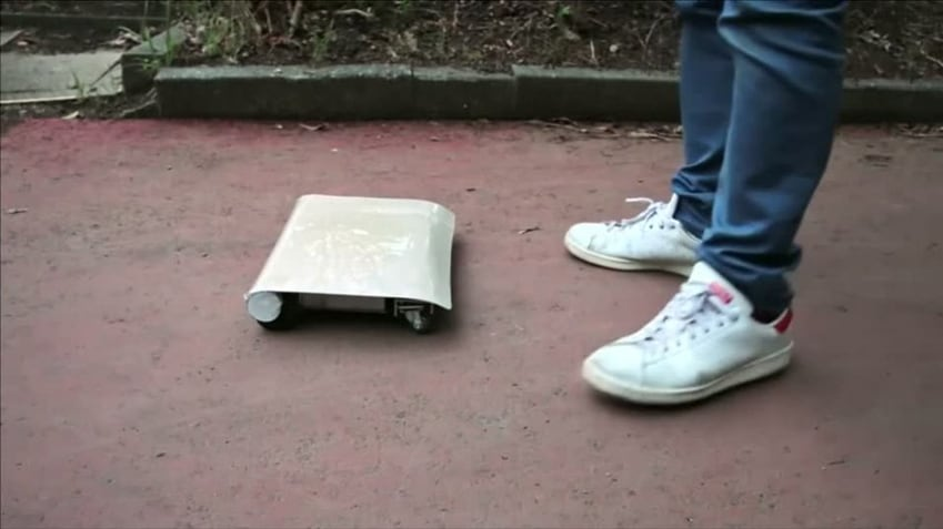 Little Personal Transporter 'WalkCar' by Cocoa Motors -Video, concept