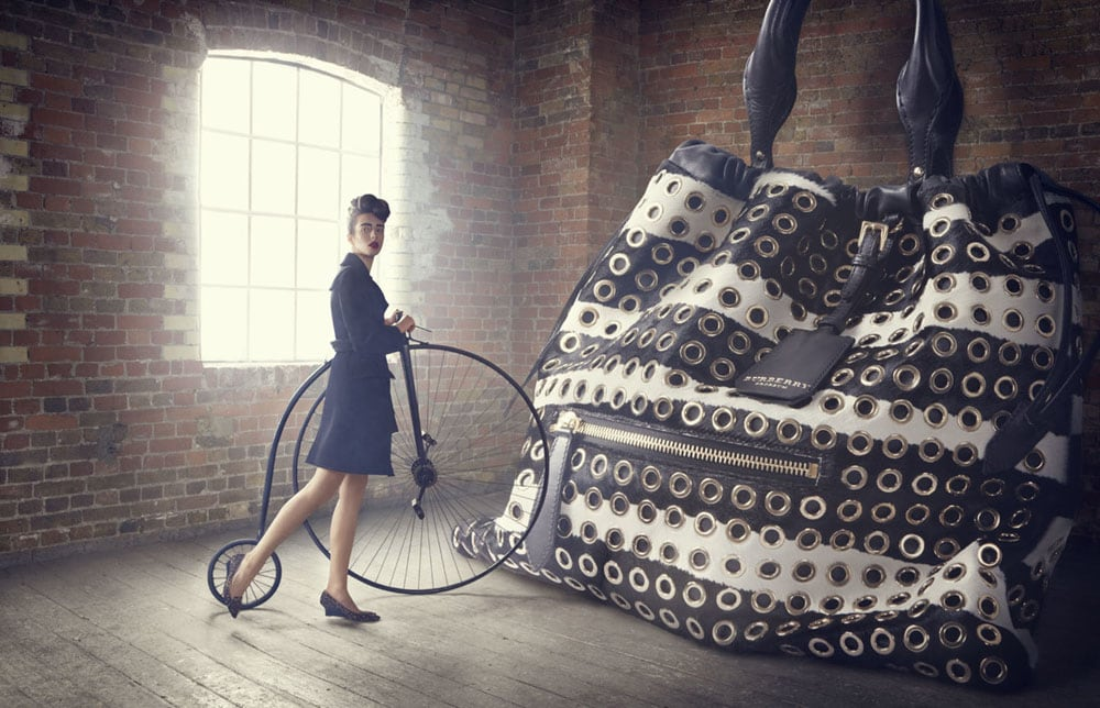 Advertising Campaign 'The Big Bag Theory' By Lucia Giacani -Photoshop