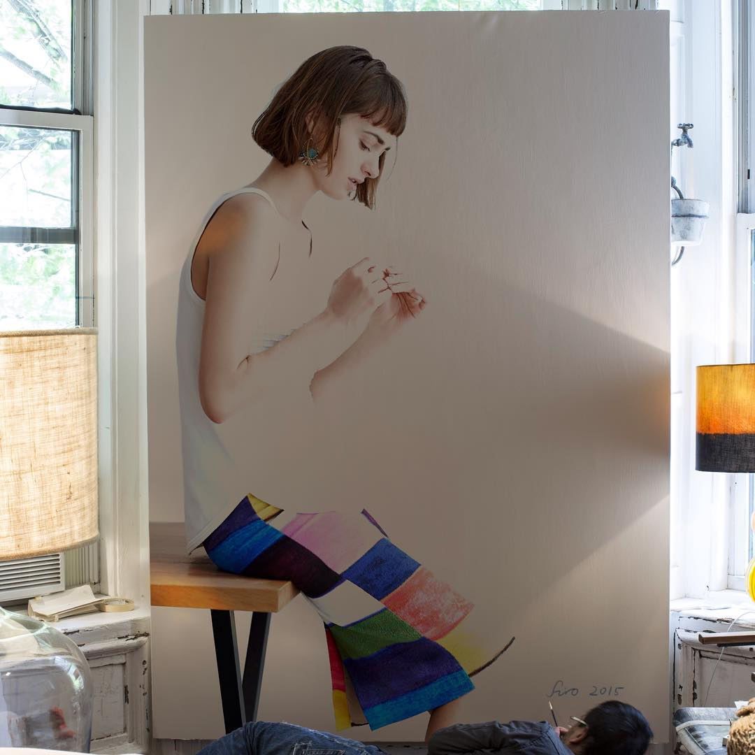 077 - Large-Scale Hyperrealistic Paintings by Hirothropologie