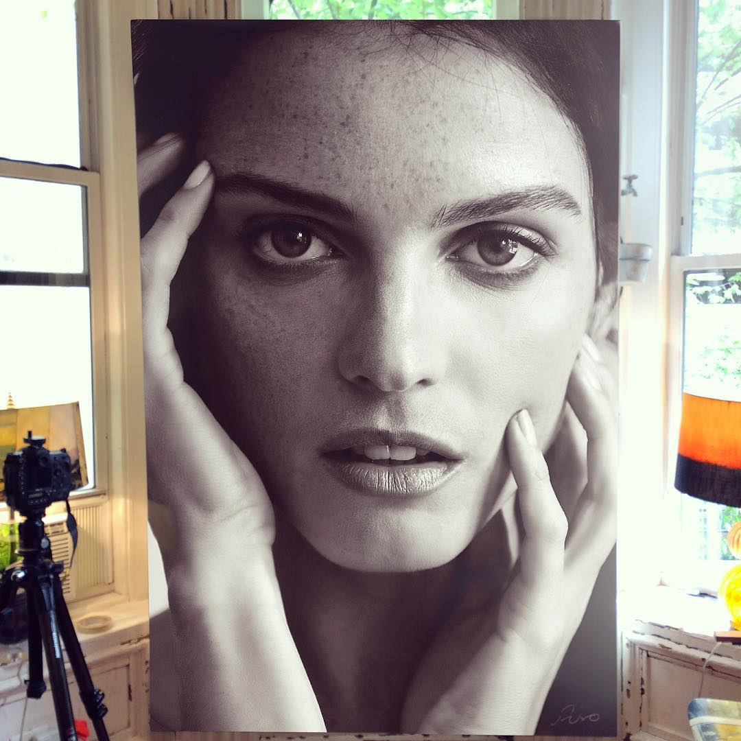136 - Large-Scale Hyperrealistic Paintings by Hirothropologie