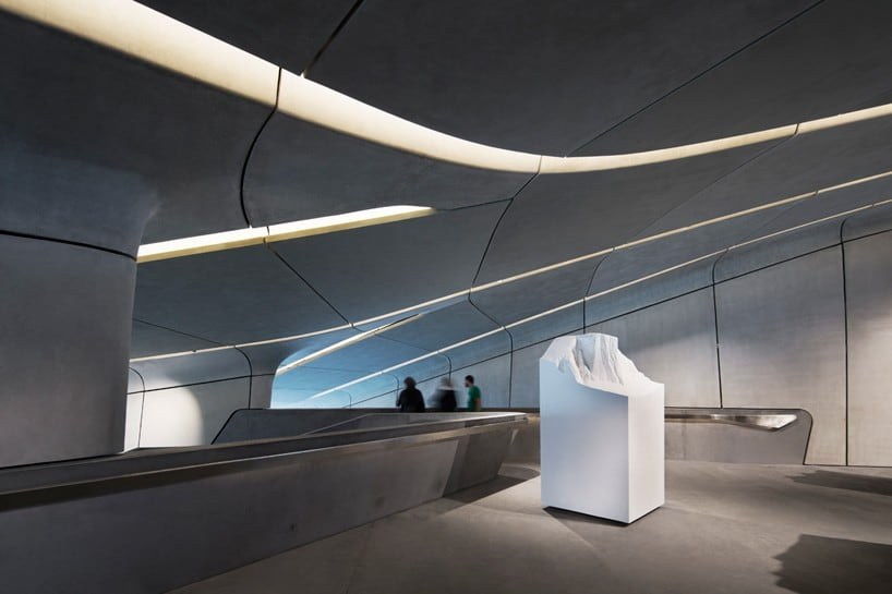 'Messner Mountain Museum Corones' Nestled Inside the Italian Dolomites by Zaha Hadid -zaha hadid, museum, mountains, landscapes, Italy