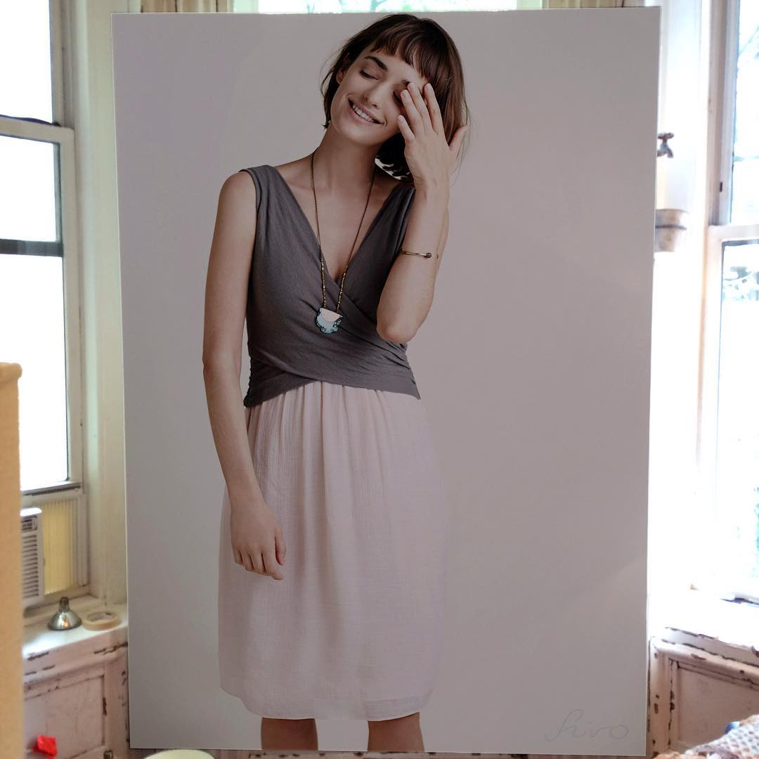 146 - Large-Scale Hyperrealistic Paintings by Hirothropologie