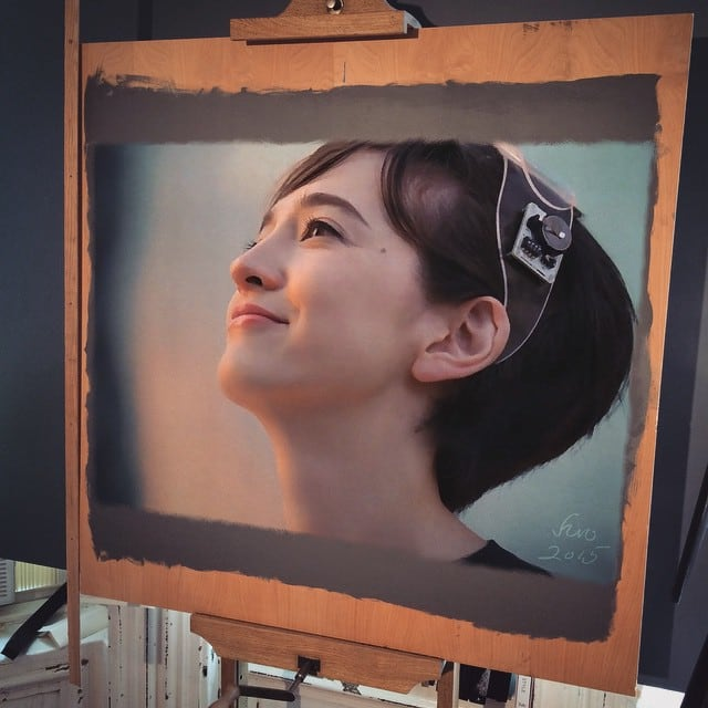 164 - Large-Scale Hyperrealistic Paintings by Hirothropologie