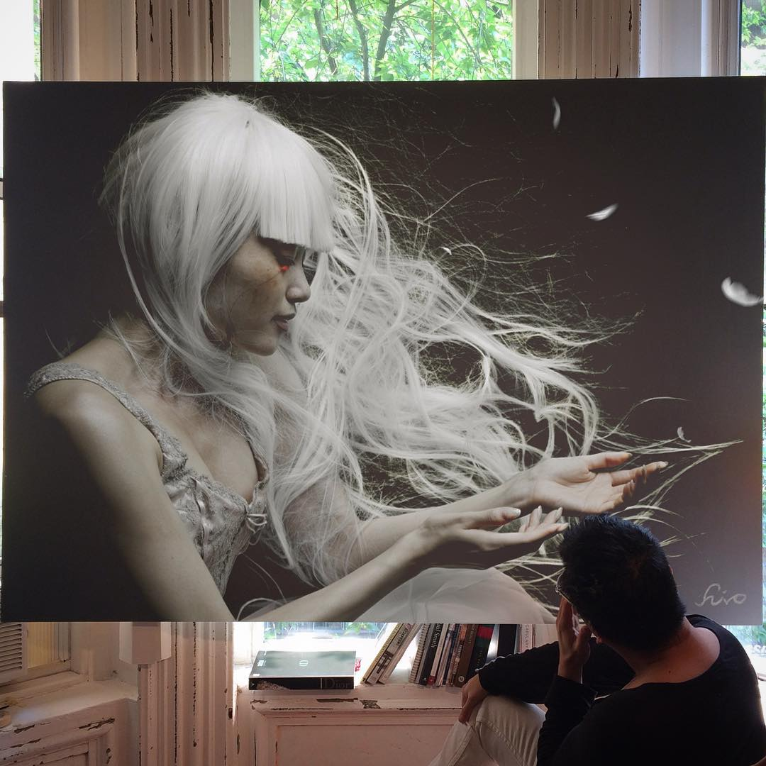 173 - Large-Scale Hyperrealistic Paintings by Hirothropologie