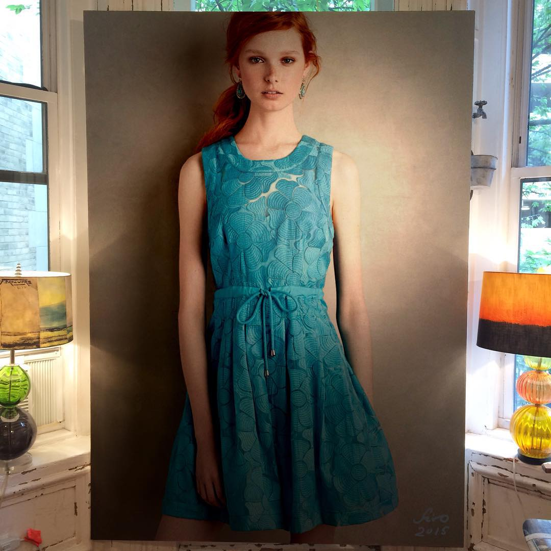 182 - Large-Scale Hyperrealistic Paintings by Hirothropologie