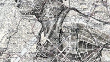 Artist Uses Maps As Canvase For Striking Ink And Pencil Drawings -pencil, maps, ink, illustrations, drawings