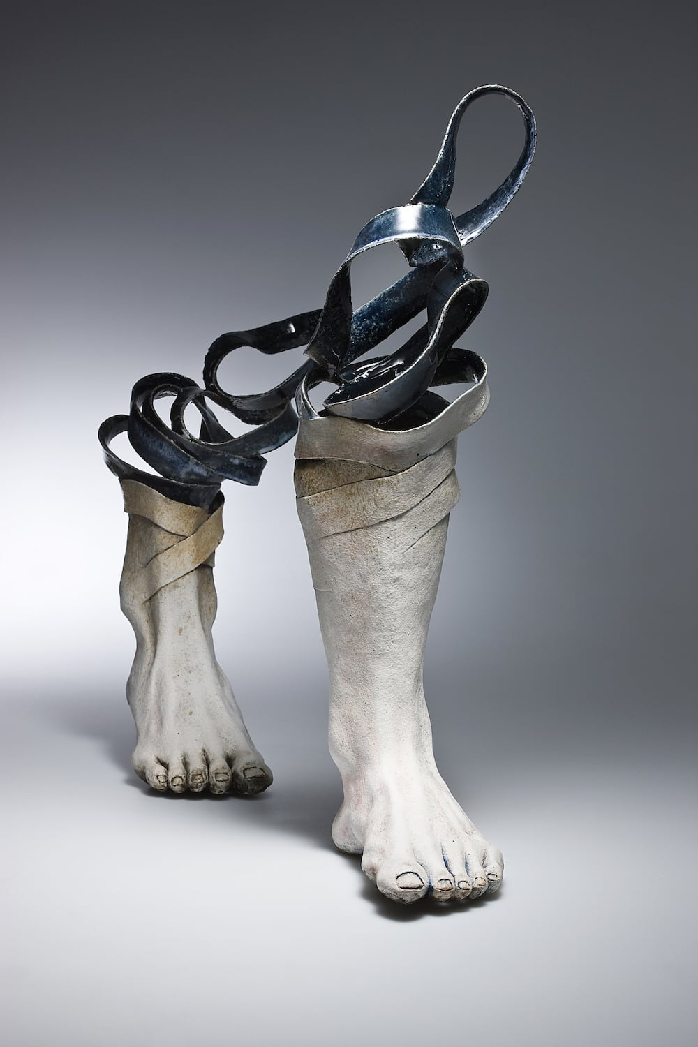 HaejinLee 2008 - Artist Creates Ceramic Sculptures That Unwind Before Your Eyes