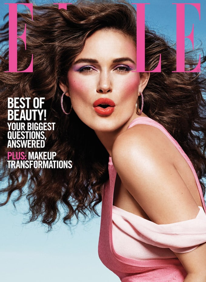 Keira Knightley Featured on ELLE September 2015 Covers -photoshoot, Elle US
