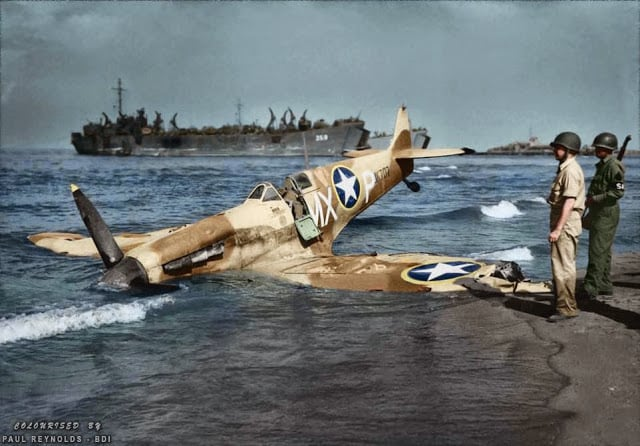 These 50 Astonishing WWII Colorized Photos Look Like They were Taken Yesterday -war, history