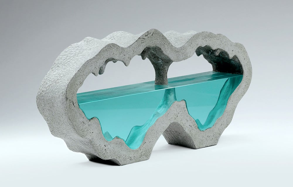 Stunning Sculptures from Layered Glass by Ben Young -sculptures, glass