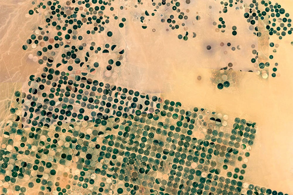Earth View: A Curated Collection of the Most Stunning Satellite Images Found on Google Earth -landscapes